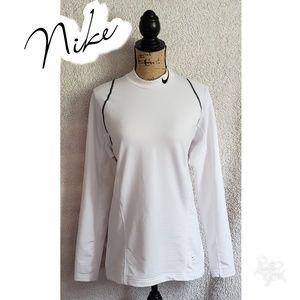 Nike pro fitted shirt medium long sleeve training